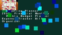 Budgeting Planner 2020: Financial Monthly   Weekly Budget Planner Expense Tracker Bill Organizer