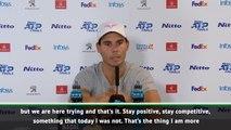 I lacked competitive spirit in Zverev loss - Nadal