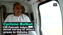 Cyclone Bulbul: CM Patnaik takes aerial survey of affect areas in Odisha