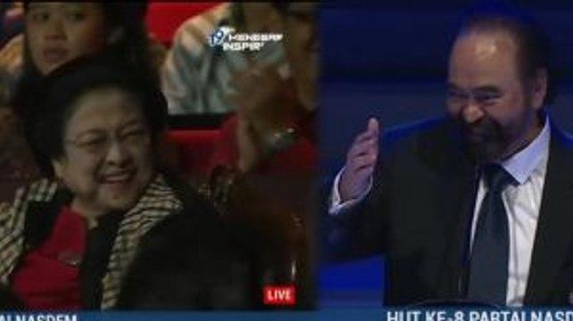 Surya Paloh: Saya Masih Sayang pada Mbak Megawati