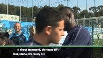Balotelli must understand teamwork - Vieira