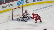 Aho steals puck, scores shorthanded goal on breakaway