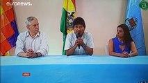 Morales refugia-se no México