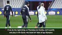 Deschamps open to idea of Mbappe at the Olympics