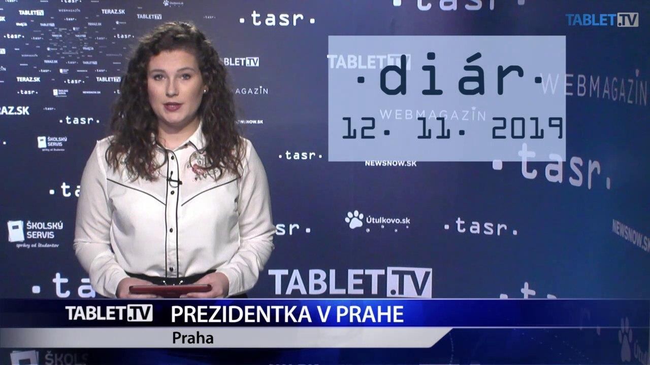 DIÁR: Prezidentka Z. Čaputová v Prahe, premiér P. Pellegrini na Cypre