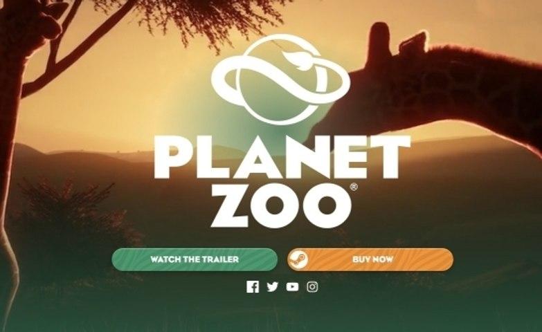 Planet Zoo: el juego al cuidado de de los animales