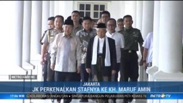 Jusuf Kalla Undang KH Maruf Amin ke Istana