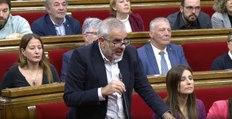 Ciudadanos abandona el pleno del Parlament antes de votar la moción de autodeterminación de la CUP