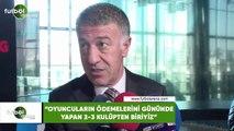 """Ahmet Ağaoğlu: """"Oyuncuların ödemelerini gününde yapan 2-3 kulüpten biriyiz"""""""