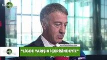 """Ahmet Ağaoğlu: """"Ligde yarışın içerisindeyiz"""""""
