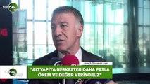 """Ahmet Ağaoğlu: """"Altyapıya herkesten daha fazla önem ve değer veriyoruz"""""""