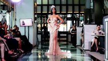 Miss Universe Malaysia Shweta Sekhon models the evening dress for 68th Miss Universe pageant