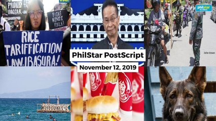 Postscript November 12, 2019