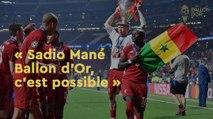 """""""Mané Ballon d'Or, c'est possible"""" pour Aliou Goloko, journaliste sénégalais"""