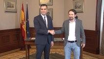 """Sánchez e Iglesias anuncian un Gobierno basado en la """"lealtad"""""""