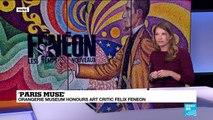 Art Critic Felix Feneon honored at the Orangerie