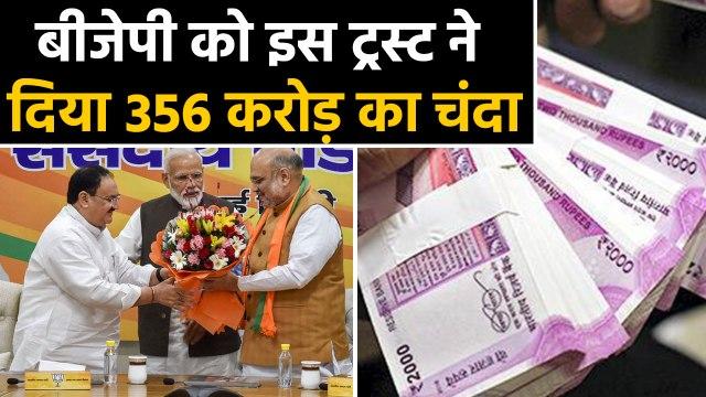 BJP को 2018-19 में मिला इतने करोड़ रुपये का Donation | वनइंडिया हिन्दी