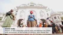 Millions in India celebrate 550th birthday of Sikhism founder