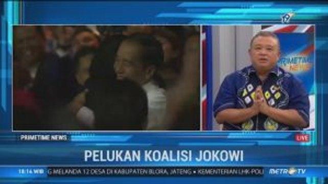 Pelukan Erat Koalisi Jokowi