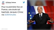Tarn. Une école porte le nom de Jacques Chirac, une première en France