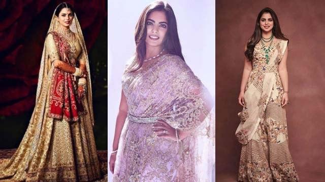 Isha Ambani looks stunning in Saree | साड़ी में बेहद स्टाइलिश लगी बिजनेसवुमन ईशा अंबानी | Boldsky