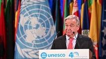 UNESCO 40. Genel Konferansı - BM Genel Sekreteri Guterres - PARİS