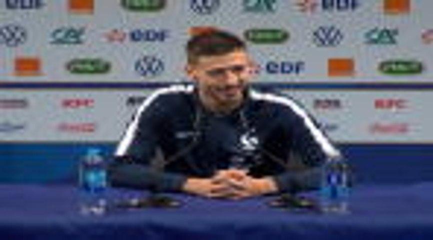 France - Lenglet : ''Griezmann est heureux à Barcelone''