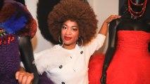 Elle crée des vêtements avec des cheveux