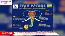 Hommage à Bernard Dadié à la 12e Édition du Prix Ivoire pour la littérature Africaine d'Expression Francophone