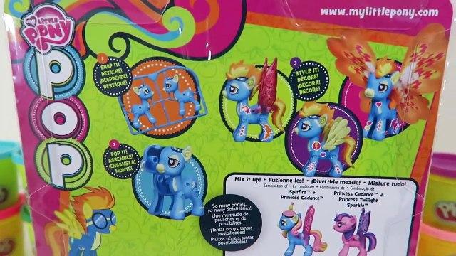 My Little Pony MLP POP Spitfire Style Kit Playset-