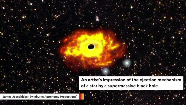 You're Out! Black Hole Ejects A Star From Milky Way