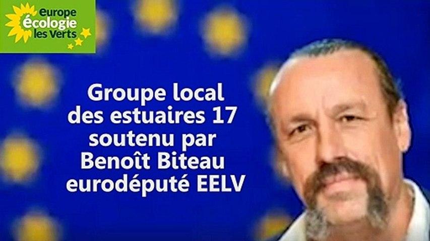 soutien de l'eurodéputé écologiste Benoit Biteau groupe Local EELV des estuaires 17