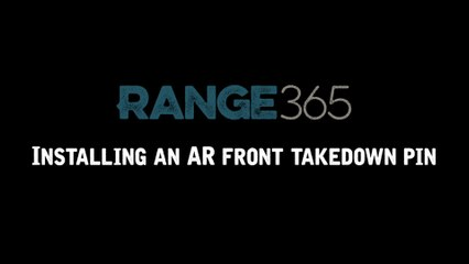 How to Install the Front Takedown Pin on an AR-15