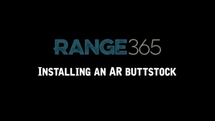 How to Install an AR-15 Buttstock