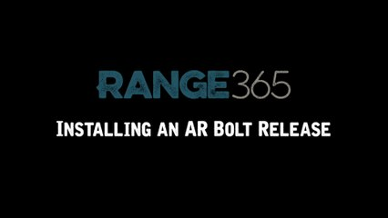 How to Install the Bolt Release on an AR-15