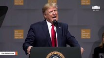 Trump Slams Federal Reserve During Speech And Says: 'Only Smart People Are Clapping'