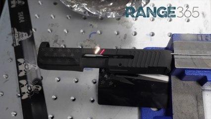Laser Etching a Handgun Slide