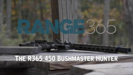 "AR-15 Build Finished Gun: 450 Bushmaster Tiger Striped ""Thumper"""