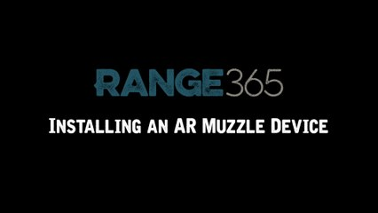 How to Install AR-15 Muzzle Devices