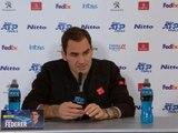 """Masters - Federer : """"Il peut me manquer un peu de rythme"""""""