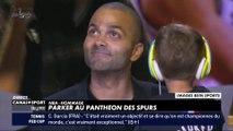 Parker au panthéon des Spurs