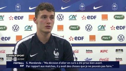 Le respect des joueurs de l'Équipe de France pour Didier Deschamps