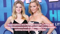 Ava and Deacon Phillippe look JUST like their famous parents in this new Instagram photo