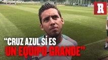 Javier Salas sí considera a Cruz Azul como un equipo grande.