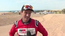 2019 Al Ula-Neom Cross-Country Rally in Saudi Arabia - Entrevista Marc Coma