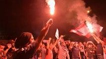 رفضا لكلام الرئيس.. محتجون غاضبون يقطعون عددا من شوارع مدن لبنانية