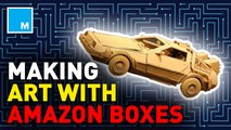 This artist turns Amazon boxes into incredible artwork —Future Blink