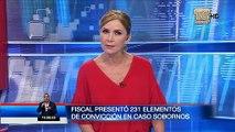 Fiscal entregó 231 elementos de convicción en el caso Sobornos 2012-2016