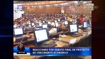 Comisión de Régimen Económico deberá entregar el informe del segundo debate
