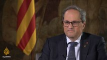 Catalan leader Quim Torra: 'Independence of Catalonia will come' | Talk to Al Jazeera
